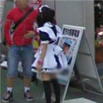 Cosplay Maid (StreetView)