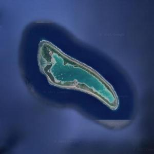 Nikumaroro (Google Maps)