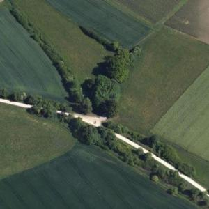 Erwin Rommel death site and memorial (Google Maps)