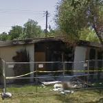 Burned house (StreetView)