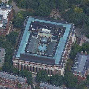 Widener Library (Google Maps)