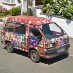 Painted Volkswagen (StreetView)
