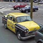Checker Taxi Cab (StreetView)