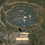 Thémis solar plant (Google Maps)