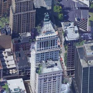 """""""PNC Tower"""" by Cass Gilbert (Google Maps)"""
