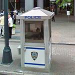 NYPD Booth (StreetView)