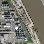 15,000 gallons of beef fat spill in Houston Ship Channel (1/4/2011) (Google Maps)