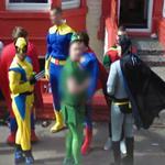 Superheroes (StreetView)