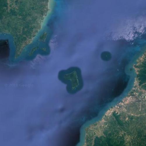 Sunda Strait (Google Maps)