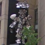 'Milord la Chamarre' by Jean Dubuffet (StreetView)