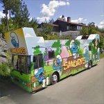 Smurfs Bus (StreetView)
