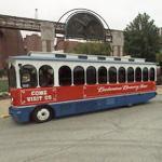 Budweiser Brewery Tour Bus
