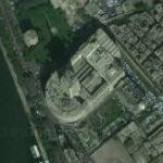 Egyptian television's Maspiro television building (Google Maps)