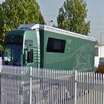 Aston Martin Racing truck
