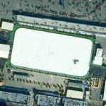 World's largest ice rink (Google Maps)