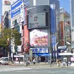 Hachikō Square Pedestrian Scramble