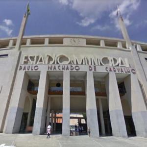 Estádio Municipal Paulo Machado de Carvalho (Pacaembu) (StreetView)