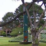 'Pine Tree Obelisk' by Joan Brown (StreetView)