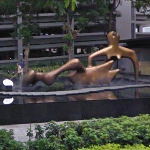 'Reclining Figure' by Henry Moore (StreetView)