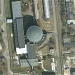 Ewa research nuclear reactor (Google Maps)