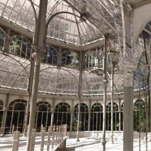 'Palacio de Cristal' by Ricardo Velázquez Bosco (StreetView)