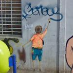 Graffiti by Os Gemeos (StreetView)