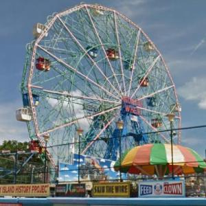 Coney Island Wonder Wheel (StreetView)