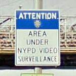 Surveillance Warning Sign (StreetView)