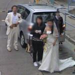 Wedding in Hong Kong (StreetView)