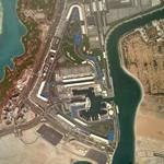 Formula1 Grand Prix Circuit of Abu Dhabi (Google Maps)