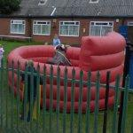 Bouncy with a Bull inside (StreetView)