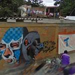 Graffiti in progress (StreetView)