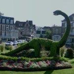 Dinosaur Topiary