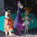 Fred, Dino, and Wilma (StreetView)
