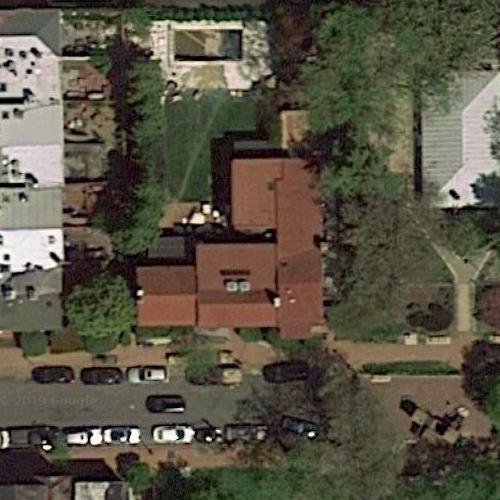 Dominique Strauss-Kahn's House In Washington, DC (Bing Maps