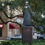 Statue of John Wesley (StreetView)