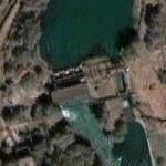 Dam in downtown Tashkent