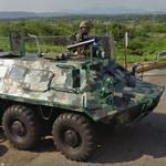 Armoured personnel carrier BTR-60