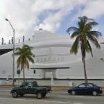 Megayacht Seafair (StreetView)