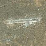 Hammaguir French orbital launch site (Google Maps)