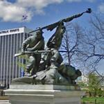 Civil War monument (StreetView)