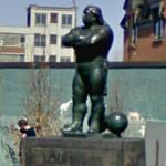 Monument to Louis Cyr (StreetView)