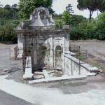 Acqua acetosa fountain (StreetView)