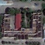 Destroyed university of South Ossetia (Google Maps)