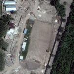 Stadium destroyed in the South Ossetian war (Google Maps)
