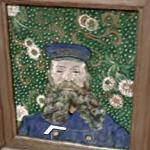 'Portrait of Joseph Roulin' by Vincent van Gogh (StreetView)
