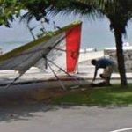 Hang glider (StreetView)