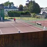 Playing Tennis (mixed doubles) (StreetView)