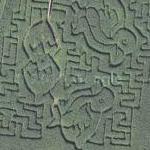 Kendal Maize maze (Google Maps)