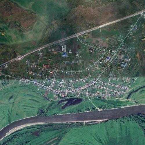 Pokrovskoye - Rasputin's place of birth (Google Maps)